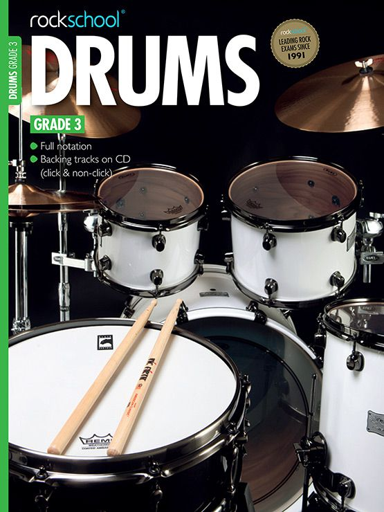 Drums Grade 3 Cover