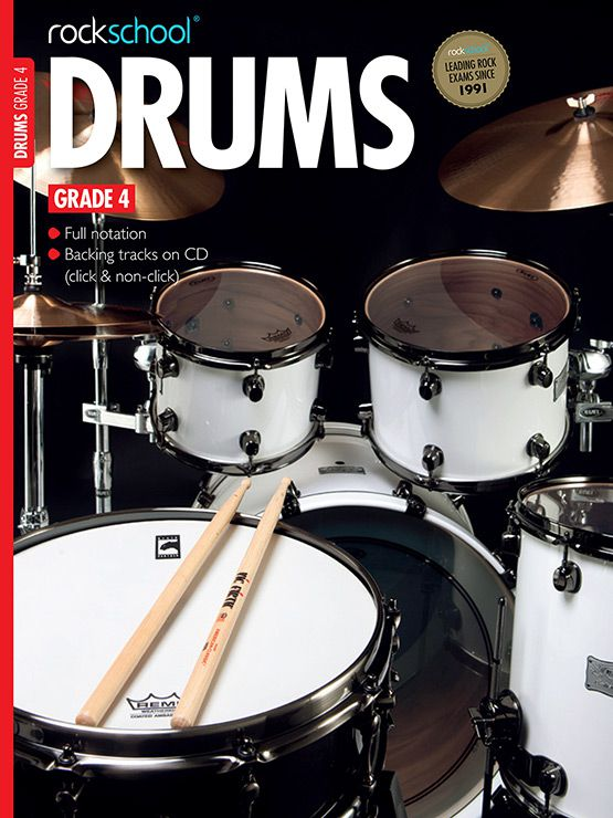 Drums Grade 4 Cover