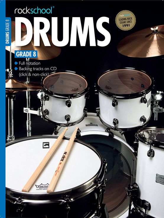 Drums Grade 8 Cover