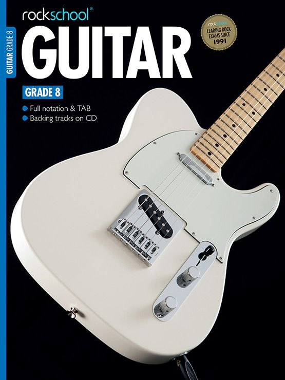 Electric Guitar Grade 8 Book