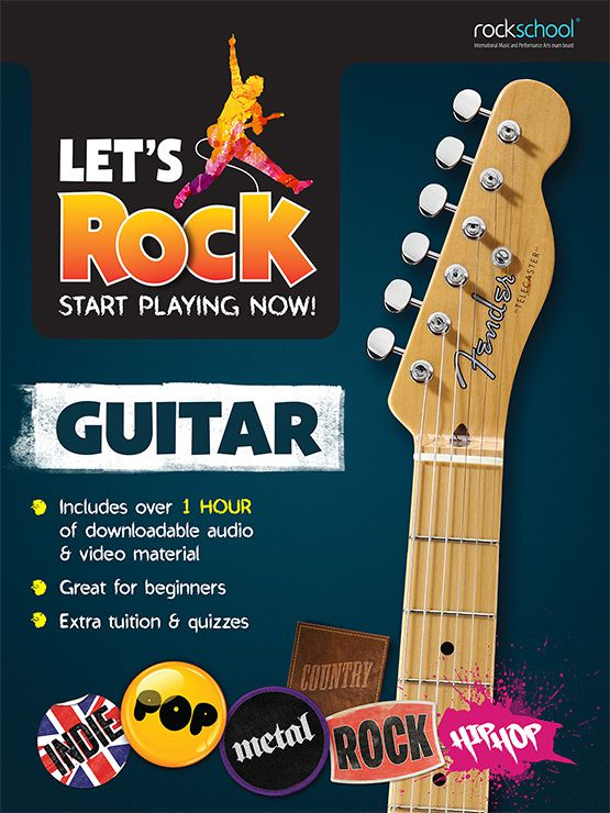 Let's Rock Electric Guitar Book (Premiere)