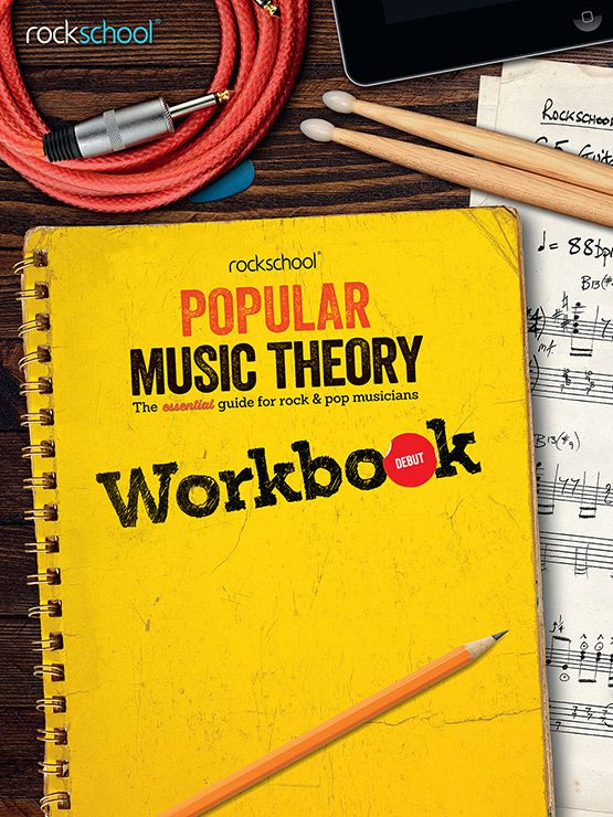 Popular Music Theory Workbook Debut