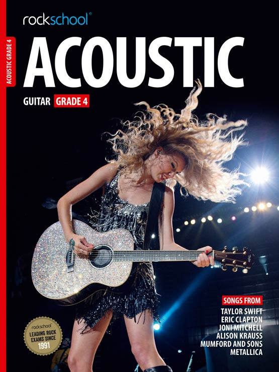 Acoustic Guitar Grade 4 Book