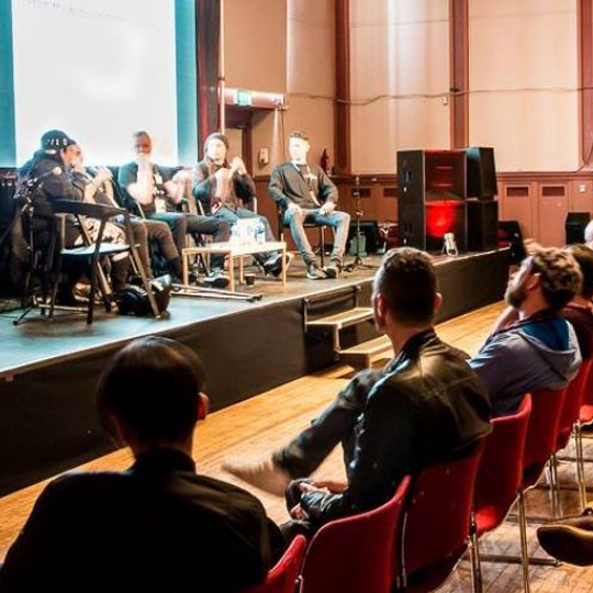"Electronic music industry experts speak at the ""BMC 2018"""
