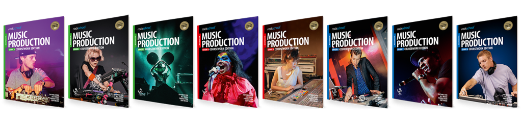 music production coursework edition book covers