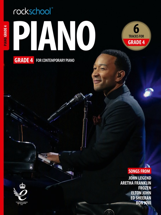 Piano Grade 4 book cover