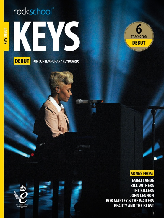 rockschool keyboard debut book cover