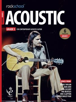 Acoustic Guitar Grade 5 Book