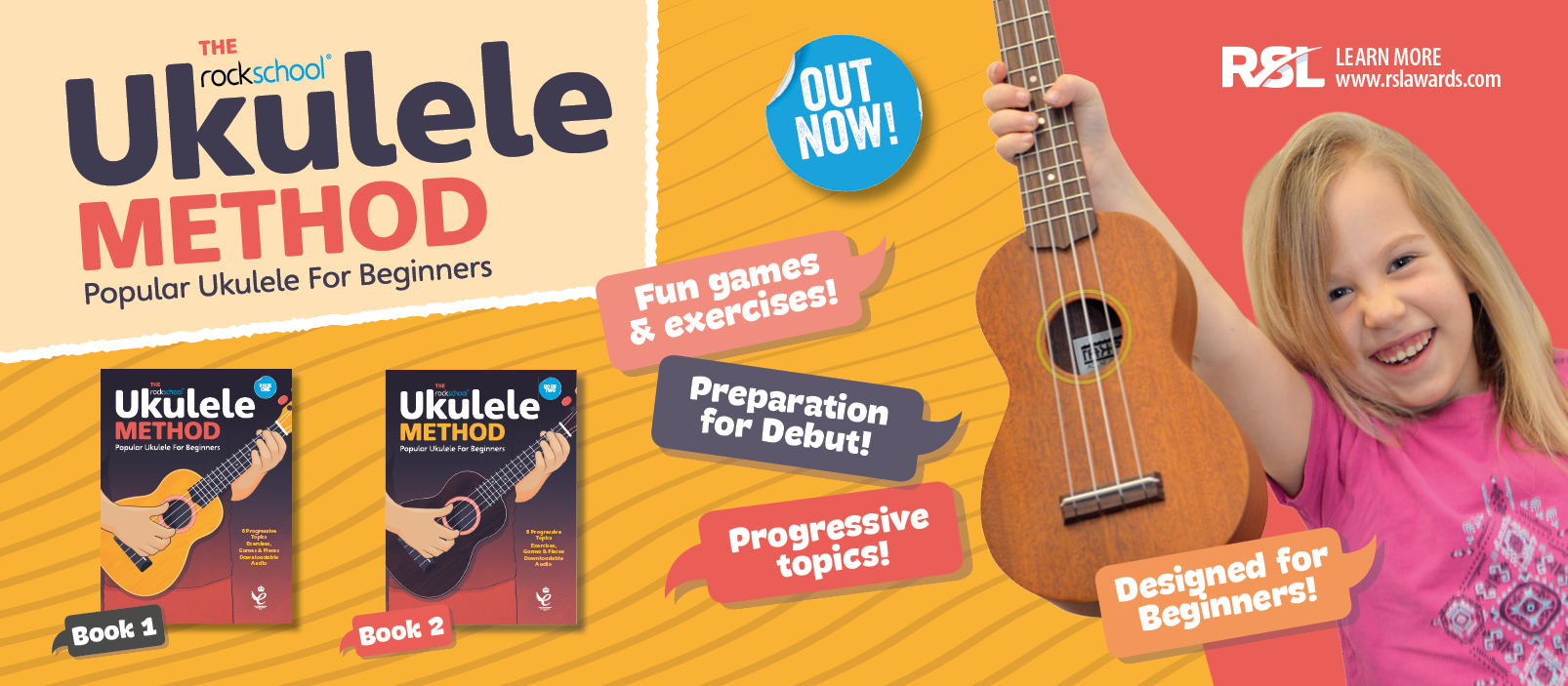 Ukulele Method Books Out Now