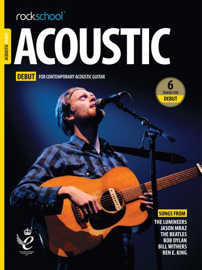 rockschool acoustic guitar debut book cover